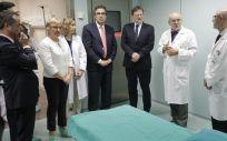 El convenio contempla una inversión total de 29'4 millones de euros para la adquisición de equipamiento para atención, diagnóstico y tratamiento de enfermedades oncológicas
