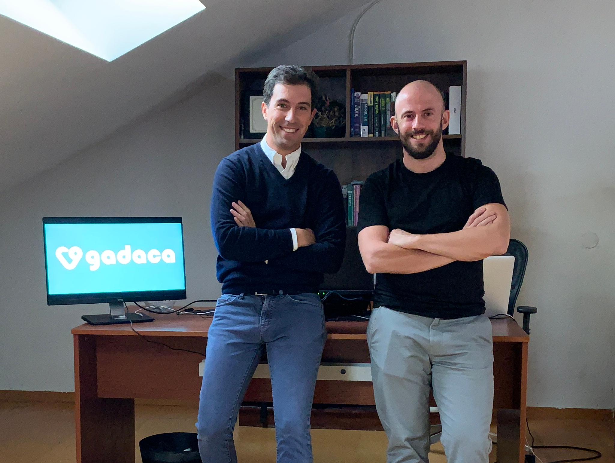 Pepe Lorente y Juan Láriz creadores de Gádaca