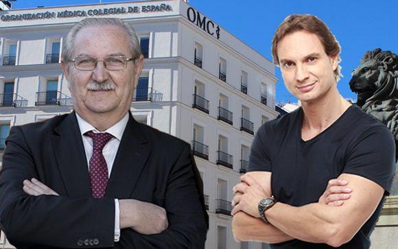 De izq. a dcha.: El doctor Serafín Romero y Javier Cárdenas