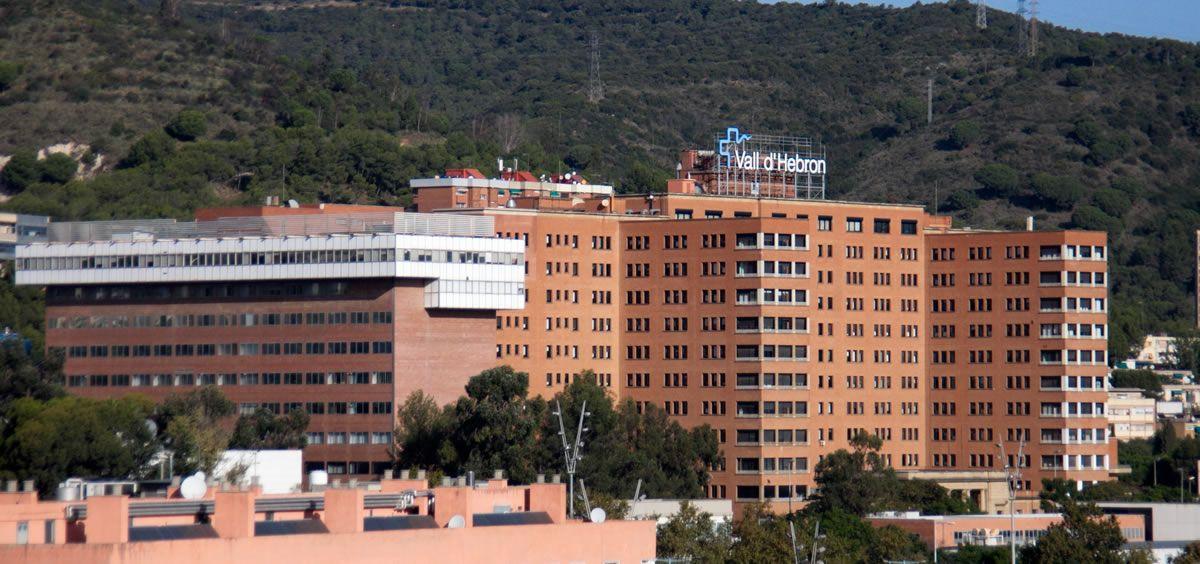 Fachada del Hospital Universitario Vall d'Hebrón (Barcelona)