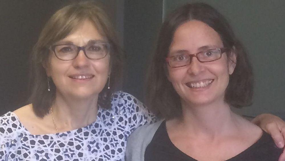 Marina Pollán y Virginia Lope, autoras del estudio