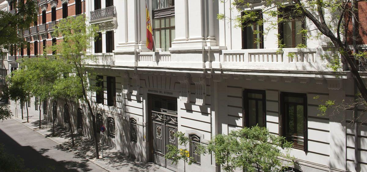 Sede del Ministerio del Interior situada en el Paseo de la Castellana en Madrid. / Foto: Flickr Ministerio de Interior