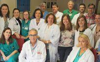 Miembros del equipo de trasplantes del Complejo Hospitalario de Toledo