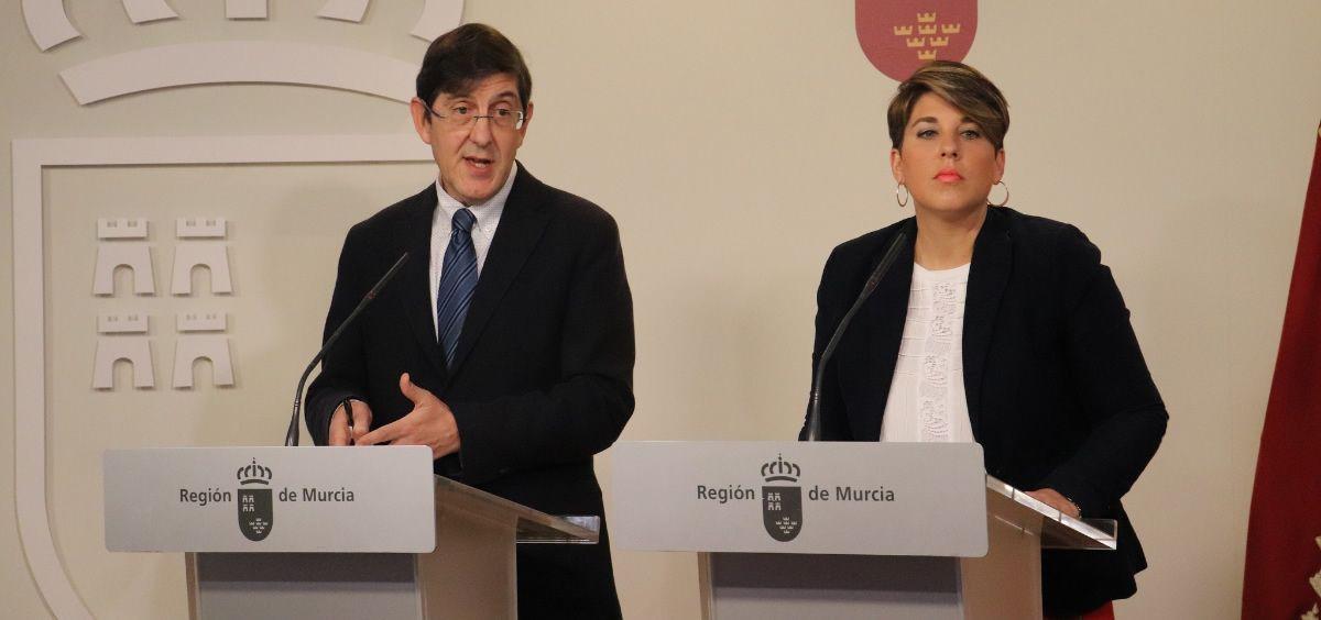 Manuel Villegas, consejero de Salud de Murcia. (Foto. CARM)