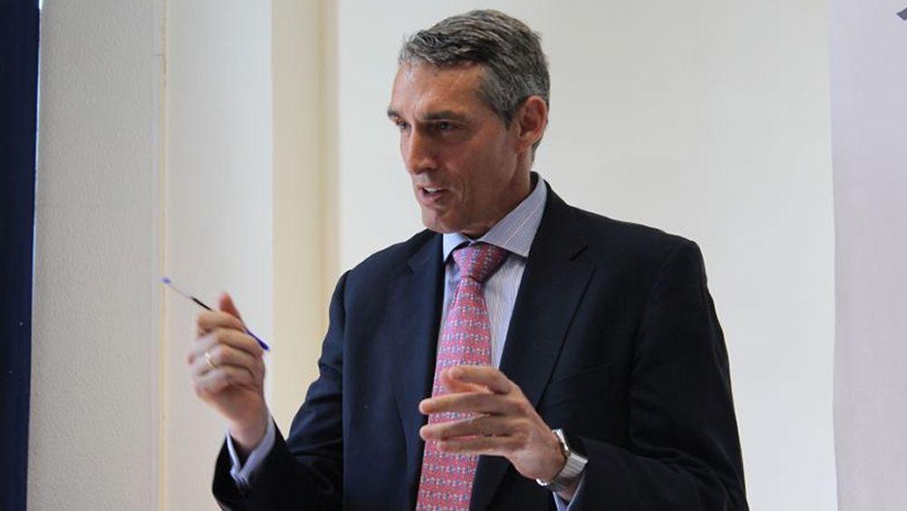 Juan Antonio Álvaro de la Parra, gerente del Hospital General de Villalba