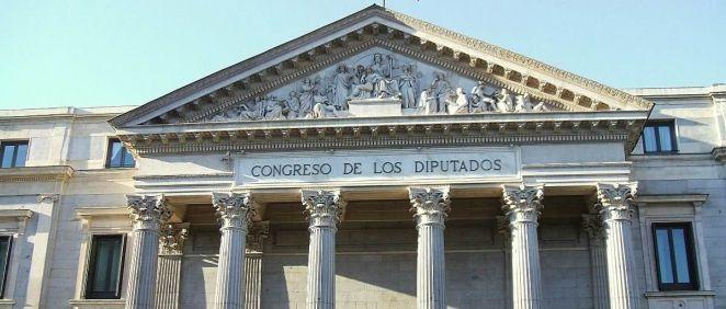Fachada del Congreso de los Diputados, donde los grupos parlamentarios han mostrado su compromiso con la Psicología Clínica