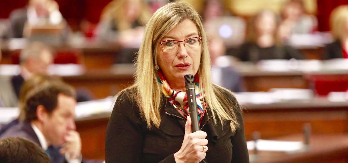 Patricia Gómez, consejera de Salud de Baleares