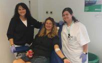 Maratón de donación de sangre celebrado el pasado 10 de octubre en el Hospital Universitario del Henares