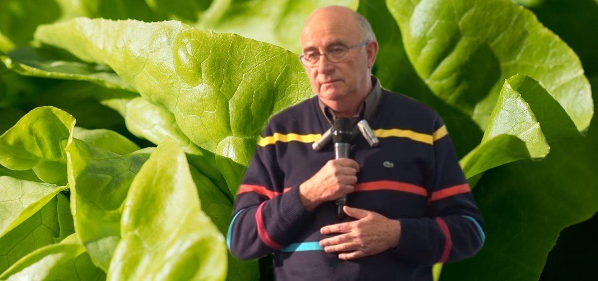 Josep Pàmies, agricultor y divulgador de pseudociencias