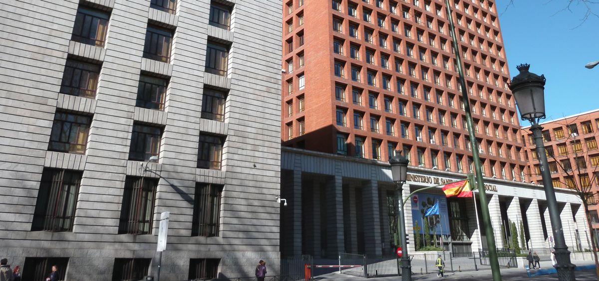 Sede del Ministerio de Sanidad. (Foto. ConSalud)