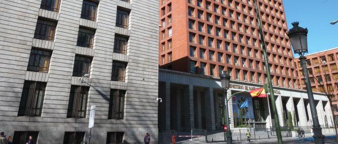 Sede del Ministerio de Sanidad.