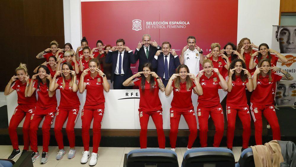 Las internacionales españolas se suman al Equipo Médula