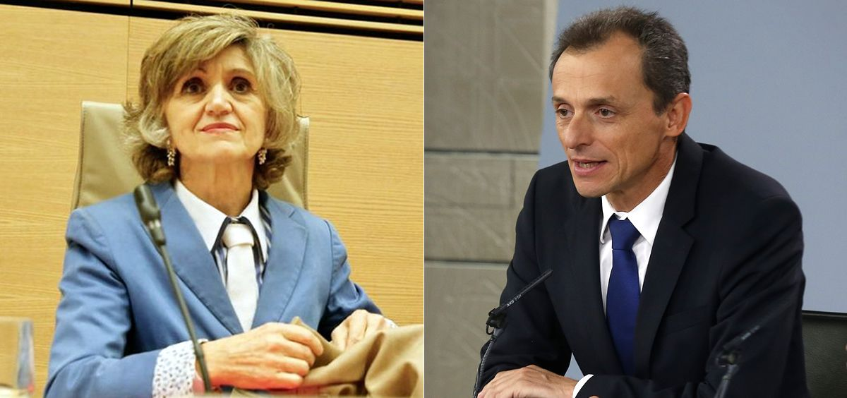 María Luisa Carcedo y Pedro Duque, ministros de Sanidad y Ciencia.