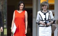 Las tres ministras de Sanidad del 2018: Dolors Montserrat, Carmen Montón y María Luisa Carcedo.