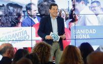El presidente del PP andaluz y candidato a la Presidencia de la Junta de Andalucía, Juanma Moreno.