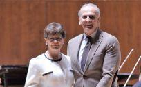 El consejero de Sanidad de la Comunidad de Madrid, Enrique Ruiz Escudero, entregó el Premio Movimiento sin Piedad (MSP) cómo 'Directiva del Año'  a la doctora Antonia Solvas