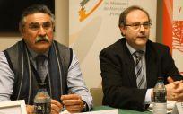 José Luis Llisterri y Jesús C. Gómez, durante la presentación del I Congreso Nacional Médico-Farmacéutico
