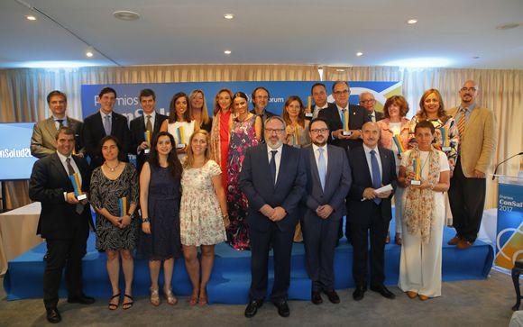 Foto de familia de los premiados. Imagen: Ayo Cabrera