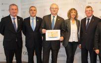 Los miembros de la Comisión Permanente de la OMC han presentado a los medios de comunicación la VI Convención de la Profesión Médica