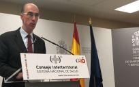 Jesús Vázquez Almuiña, consejero de Sanidad de Galicia, organismo al que pertenece el Sergas