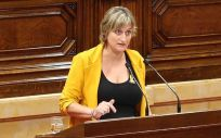 Alba Vergés, consejera de Salud de Cataluña