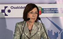 María Jesús Múgica, hasta ahora directora general de Osakidetza.