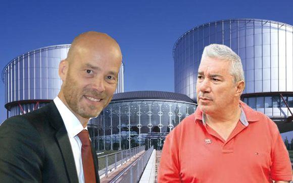 De izq. a drcha.: Christoph Stolle, director general de Grünenthal Pharma y Rafael Basterrechea, vicepresidente de Avite