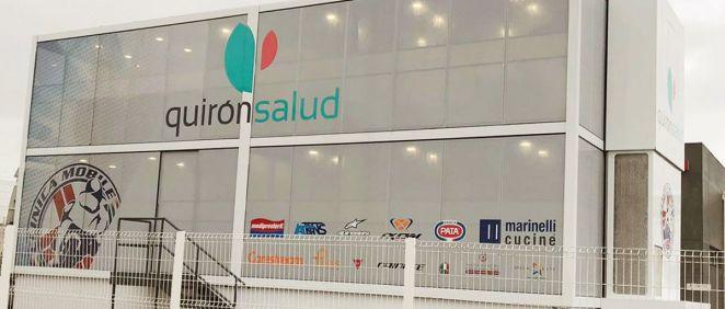 El mundial de MotoGP cierra 2018 con más salud gracias al centro médico a pie de pista de Quirón