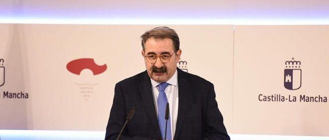 Jesús Fernández Sanz, consejero de Sanidad de Castilla La Mancha.