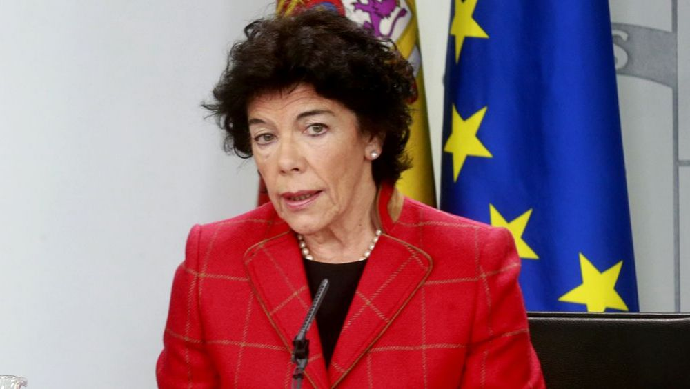 Isabel Celaá, ministra de Educación y Formación Profesional (Foto: La Moncloa)