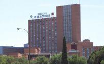 Vista del Hospital Universitario 12 de Octubre