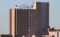 Fachada del Hospital Universitario 12 de Octubre