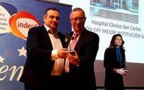 El Hospital Clínico San Carlos distinguido como mejor institución sanitaria por el Instituto de Investigación y Desarrollo Social de Enfermedades Poco Frecuentes