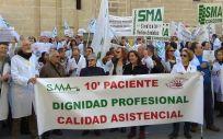 El Sindicato Médico Andaluz (SMA) ha rechazado con rotundidad las declaraciones realizadas este jueves a distintos medios de comunicación por Susana Díaz
