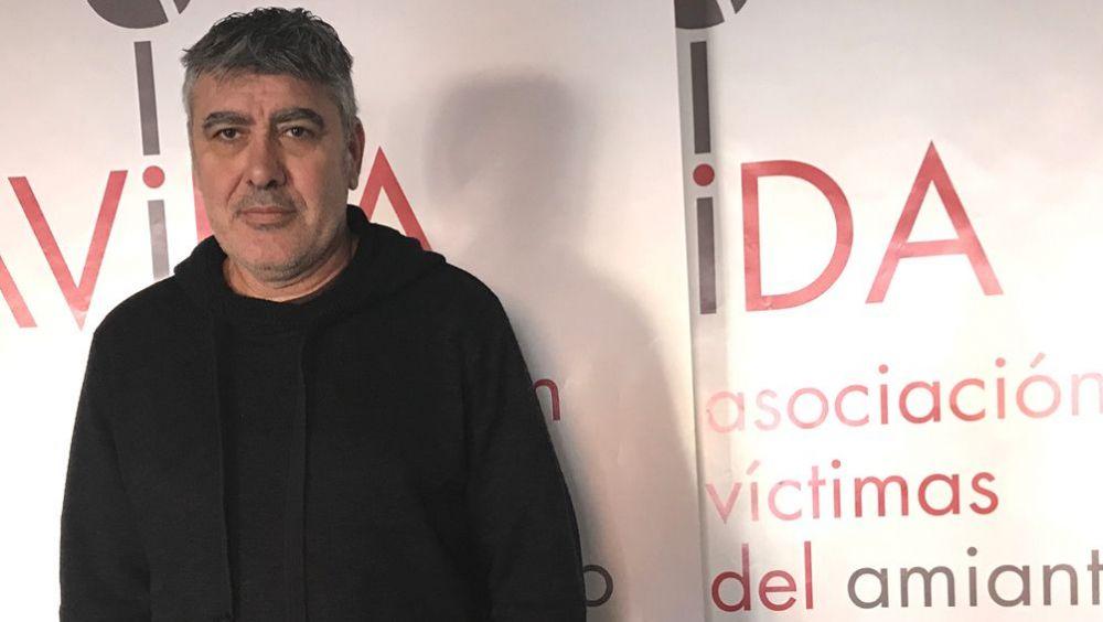 Juan Carlos Paul, presidente de la Federación de Asociaciones de Víctimas del Amianto (Avida).