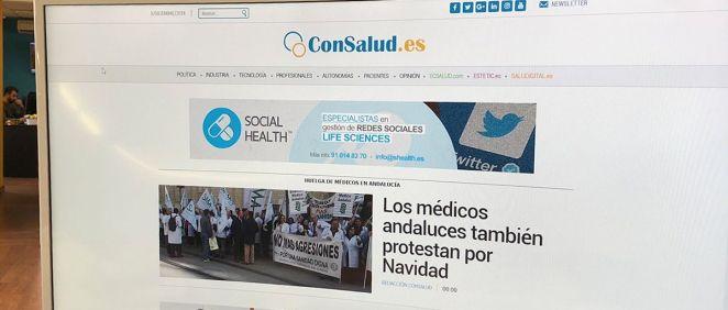 Imagen de la portada de ConSalud.es