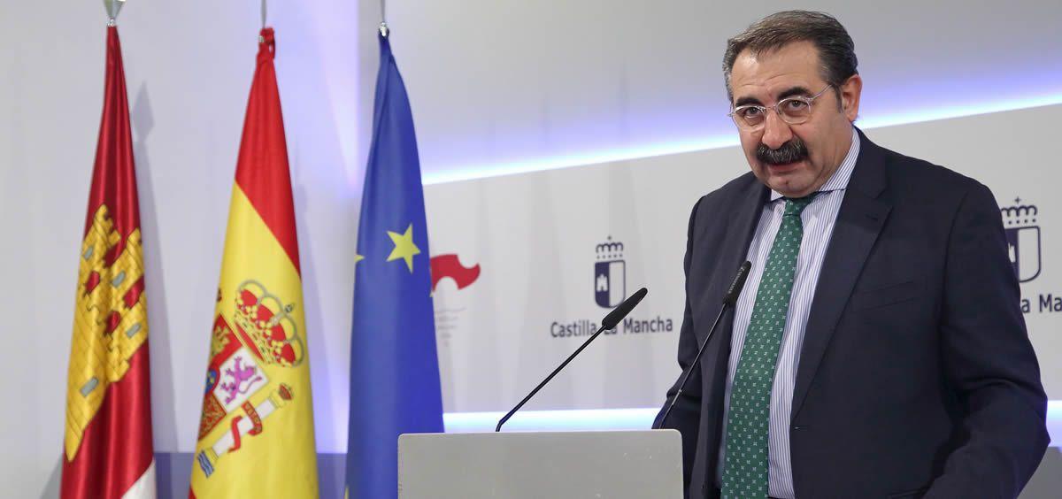 El consejero de Sanidad de Castilla-La Mancha, Jesús Fernández Sanz