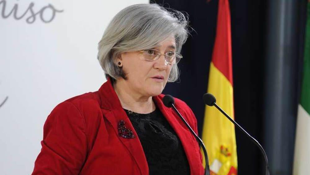 La secretaria general de la Consejería de Sanidad y Políticas Sociales de Extremadura, Aurora Venegas
