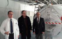 El HUCA instala su quinta resonancia magnética donada por la Fundación Amancio Ortega