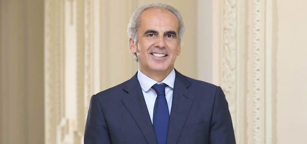 Enrique Ruiz Escudero, consejero de Sanidad en funciones de la Comunidad de Madrid