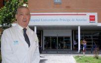 Félix Bravo, director gerente del Hospital Universitario Príncipe de Asturias
