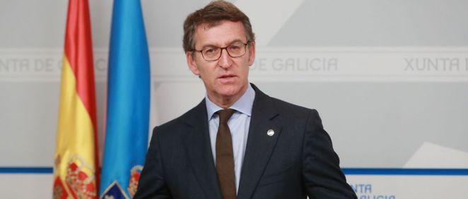El presidente de la Xunta de Galicia, Alberto Núñez Feijóo.