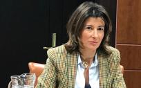 Laura Garrido, parlamentaria del Partido Popular del País Vasco