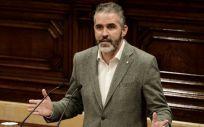 El portavoz sanitario de Ciudadanos en Cataluña, Jorge Soler. (Foto: Ciutadans)