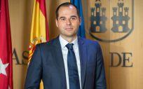 Ignacio Aguado, portavoz del Grupo Parlamentario Ciudadanos en la Asamblea de Madrid