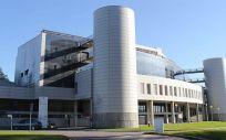 Fachada exterior de Hospital Montecelo en Pontevedra