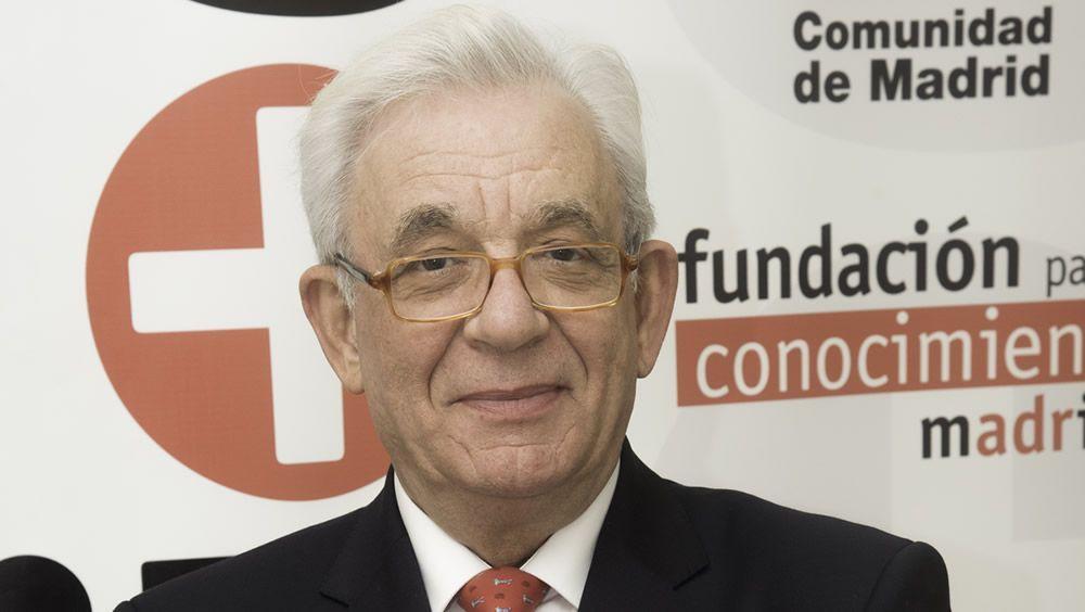 Jesús Sánchez Martos, durante la entrevista concedida a ConSalud.es   Fotos: Miguel Ángel Escobar