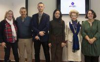 Presentación de la campaña 'AcogER+enfermera', impulsada por el Consejo General de Enfermería y Feder