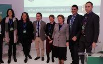 Miembros de Gedeon Richter y sociedades científicas invitadas a la presentación de los resultados del Informe de Bienestar de la Mujer