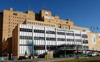 Fachada del Hospital Universitario Miguel Servet